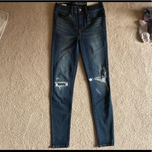 American Eagle Patch Me Up Hi Rise Jegging Jeans 2